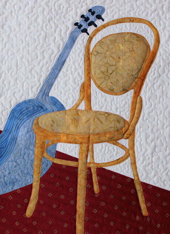 Chair and Guitar