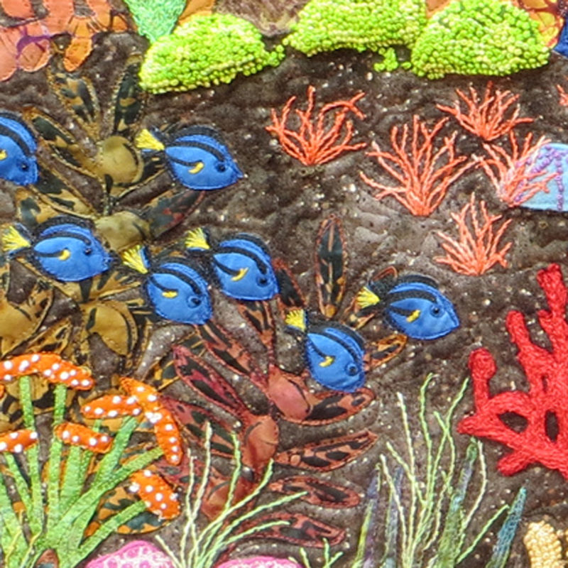 Life on the Reef detail